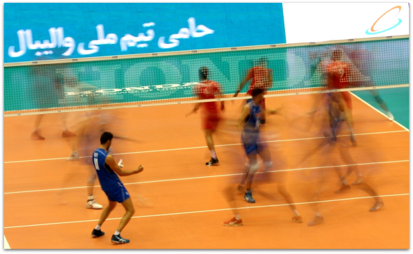 2016 FIVB World League - Iran 0-3 Italy 01