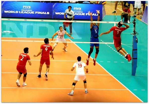 2016 FIVB World League - Iran 0-3 Italy 04