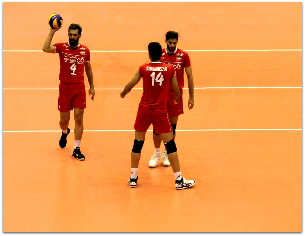 2016 FIVB World League - Iran 0-3 Italy 05