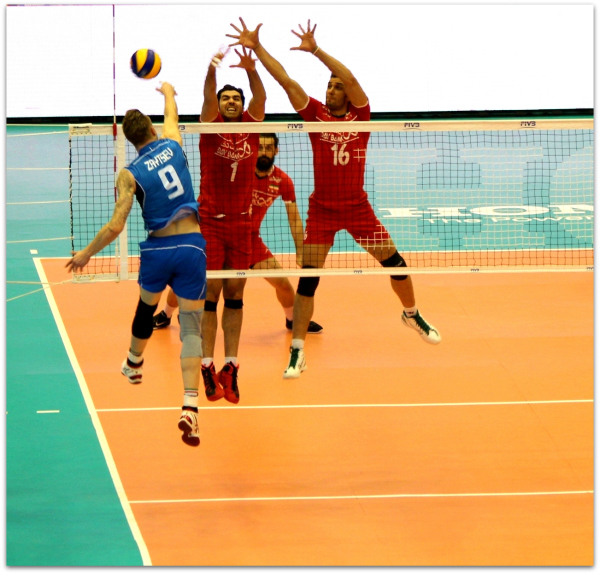 2016 FIVB World League - Iran 0-3 Italy 09