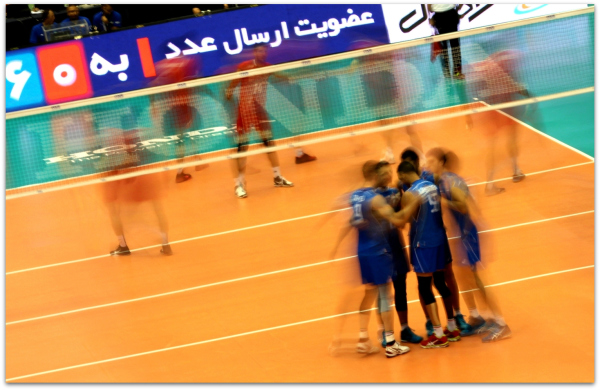 2016 FIVB World League - Iran 0-3 Italy 10