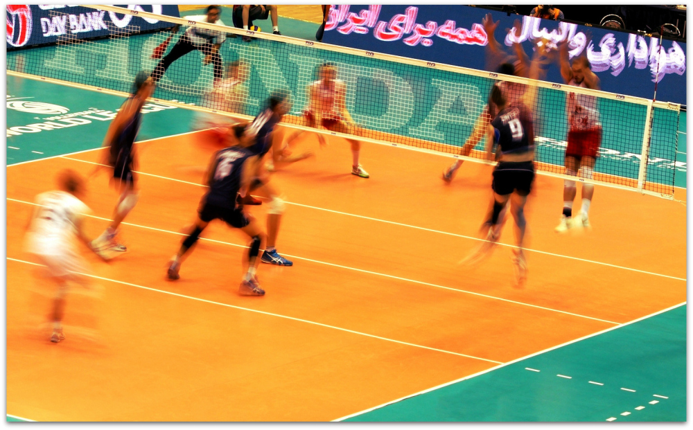 2016 FIVB World League - Iran 3-2 Argentina 01