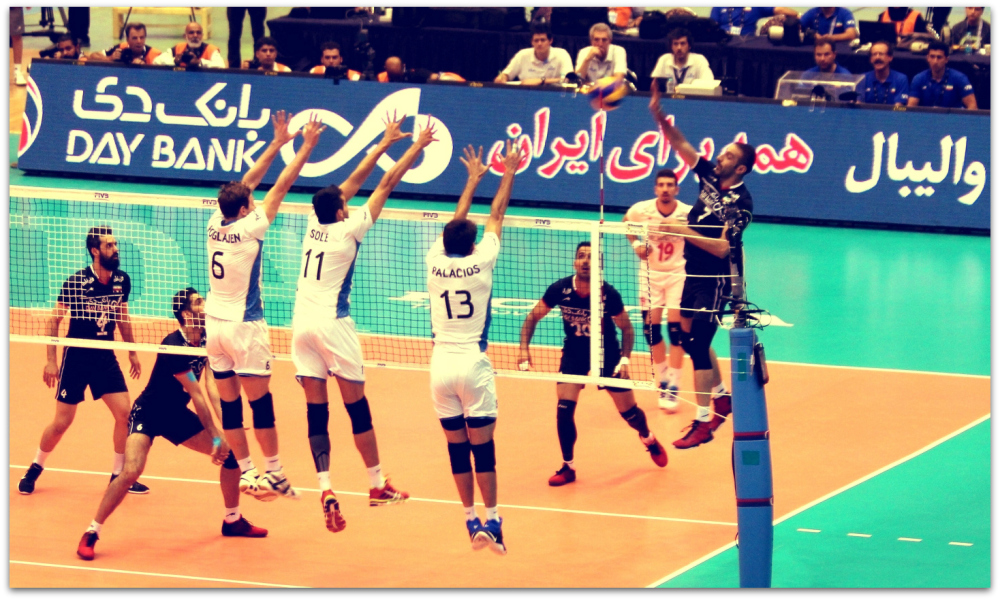 2016 FIVB World League - Iran 3-2 Argentina 03