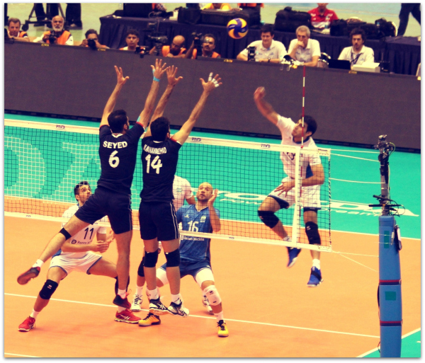 2016 FIVB World League - Iran 3-2 Argentina 06