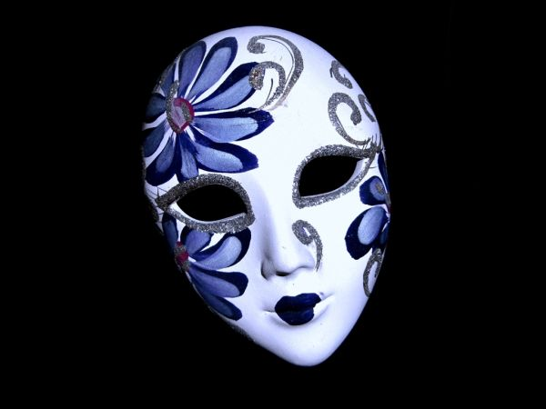 "Simplicity - ""venetian mask""  (IV)"