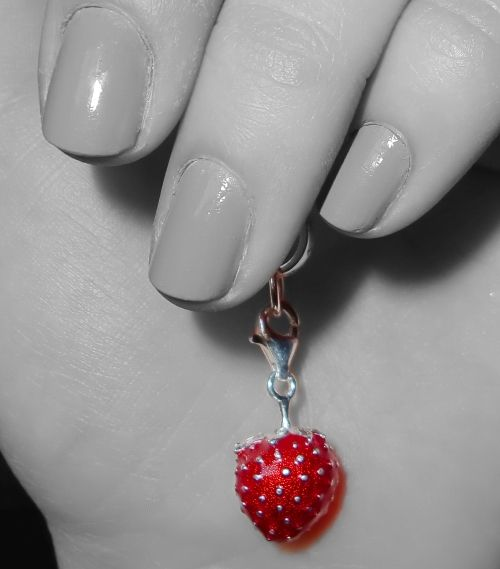 ... strawberry ...
