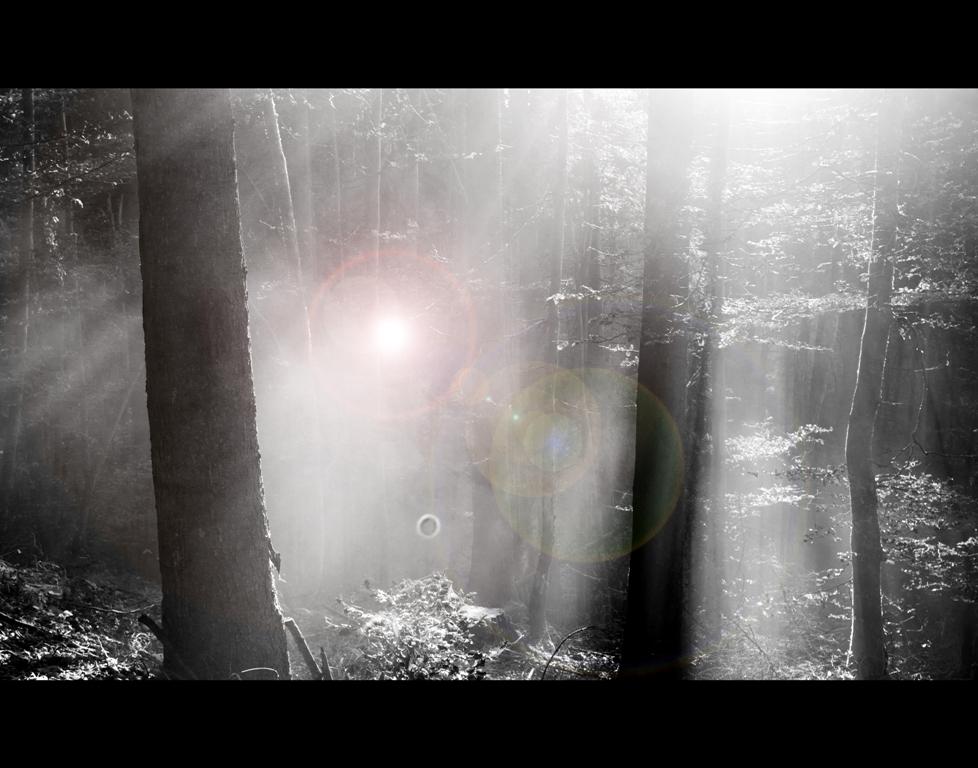 ... lens flare effect ...