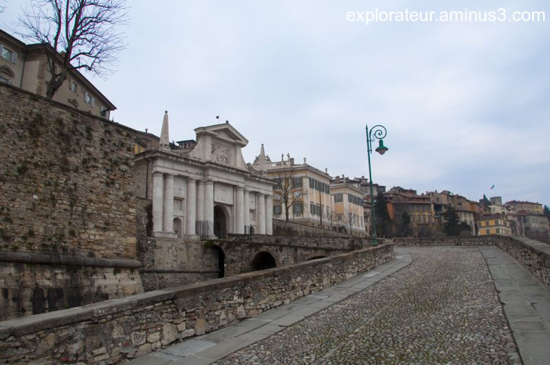 Bergamo: Porta S. Giacomo