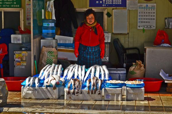 the fish lady