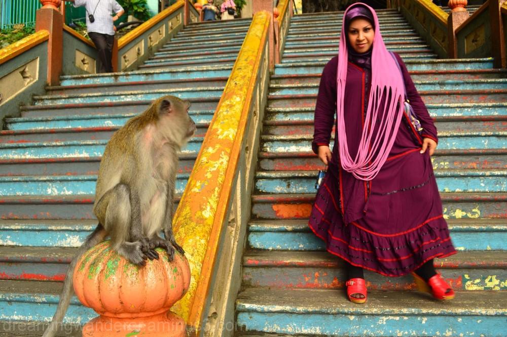 visiting Batu Caves, Kuala Lumpur