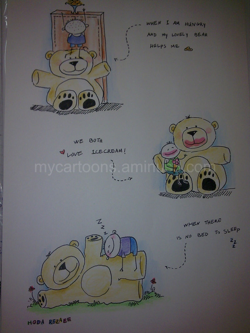 hoda's teddy bears