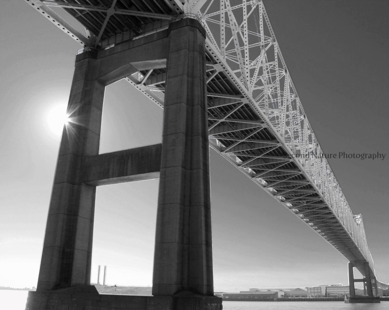 This is a shot of the Greater New Orleans Bridge