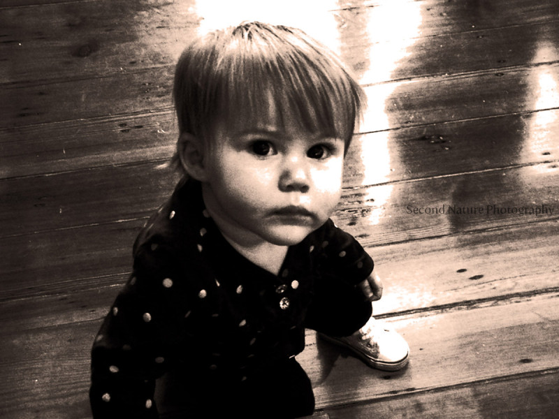 Photo of a friend's daugther