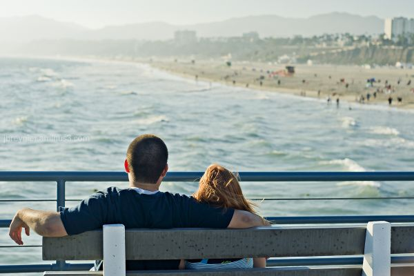 Santa Monica Couple