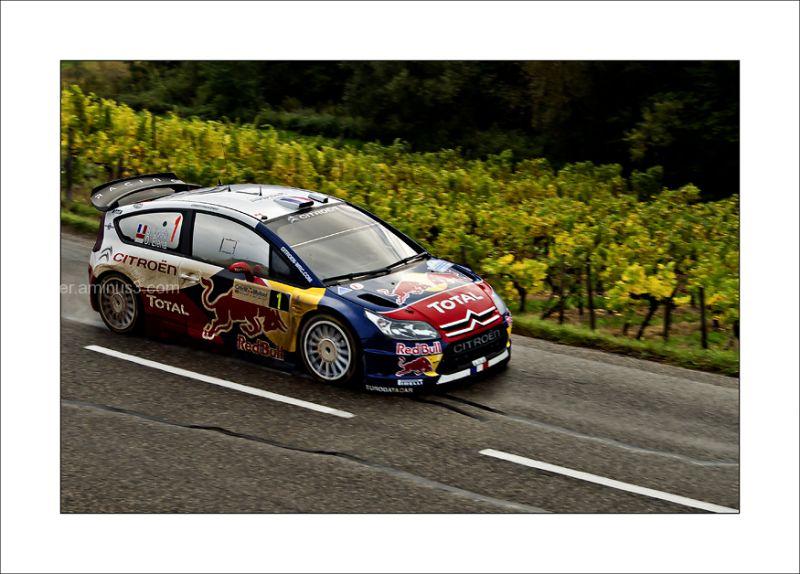 Sebastien Loeb WRC Rallye de France Alsace
