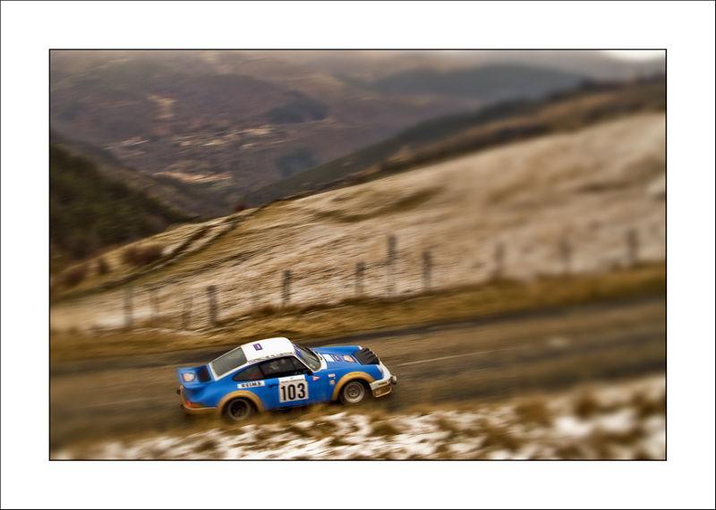 Monte Carlo Historic Porsche 911 col de la fayolle