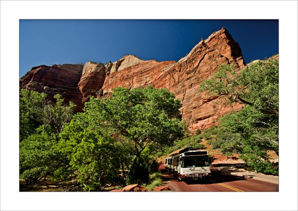 Zion Canyon shuttle
