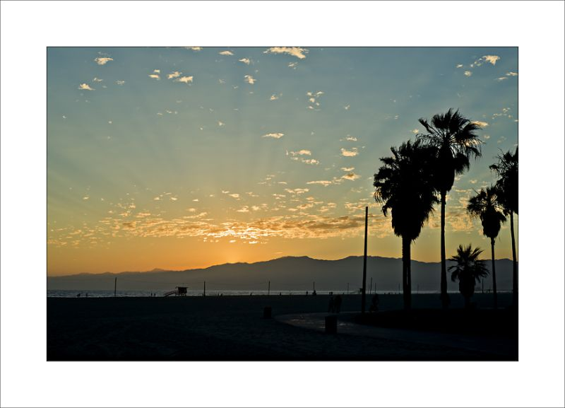 Malibu Venice Beach Sunset