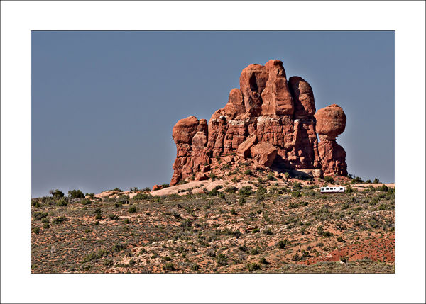 Arches scenery RV