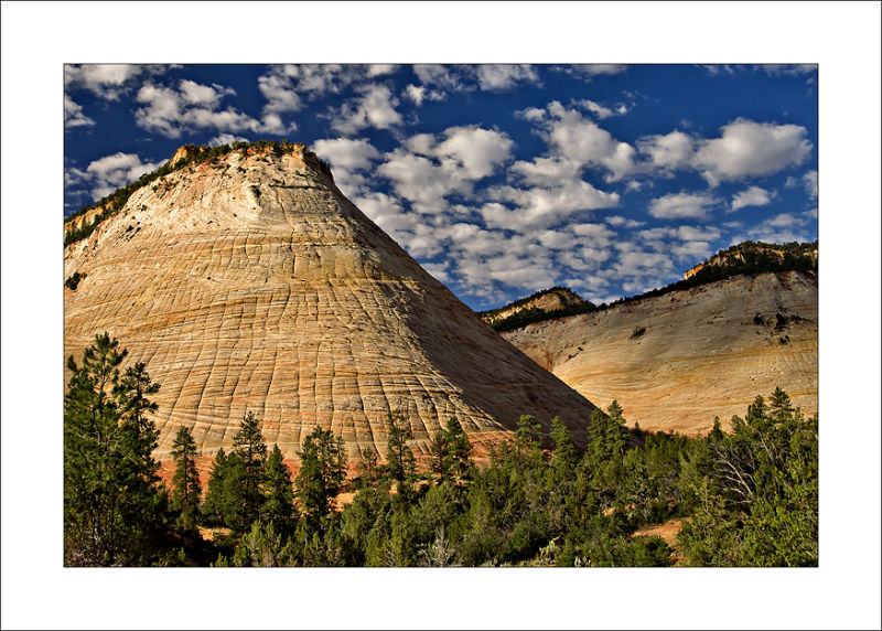 Checkerboard Mesa Zion Canyon