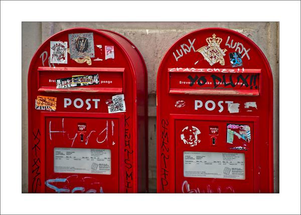 Copenhagen letterbox