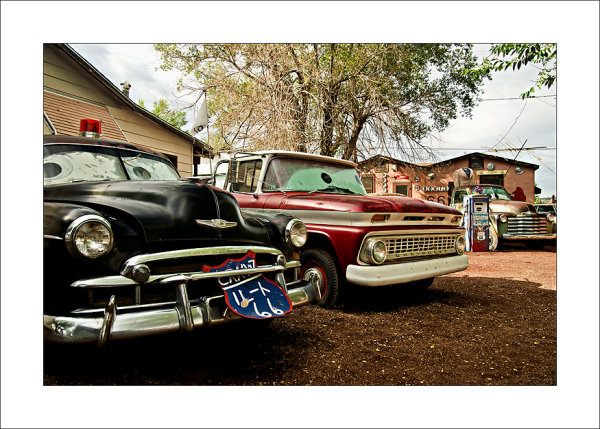 Route 66 cars