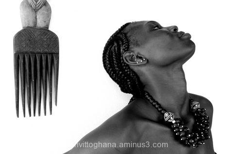 Ghana glass beads