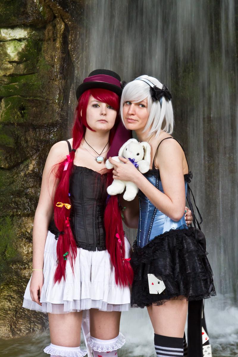 Lunalice Nightray and Aiko Nightingale