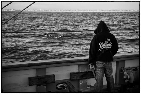 man on ship