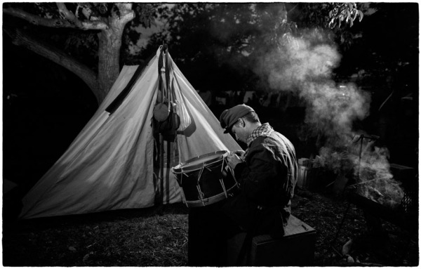 civil war reenactment