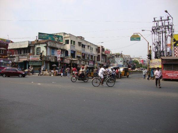 At Cross Road