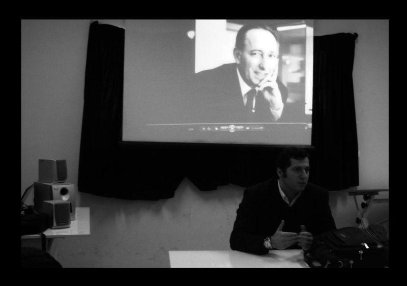 نمایش فیلم مستند هادی میرمیران