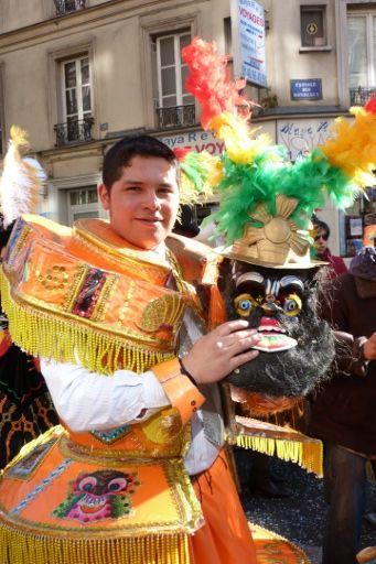 Costume traditionnel Amérique du Sud