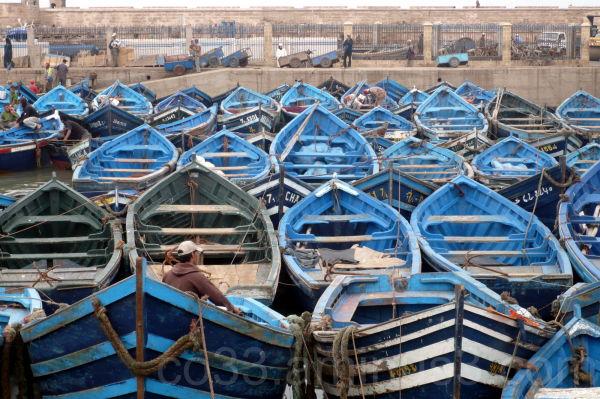 Maroc / barques (1/3)