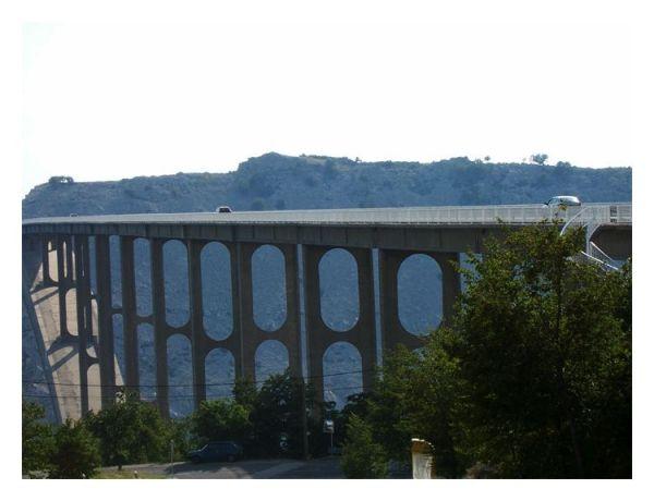 Tito's bridge to Krk , Croatia