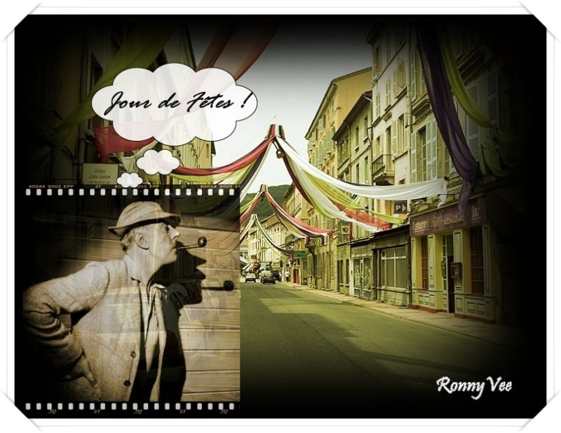 Hommage à Jacques Tati