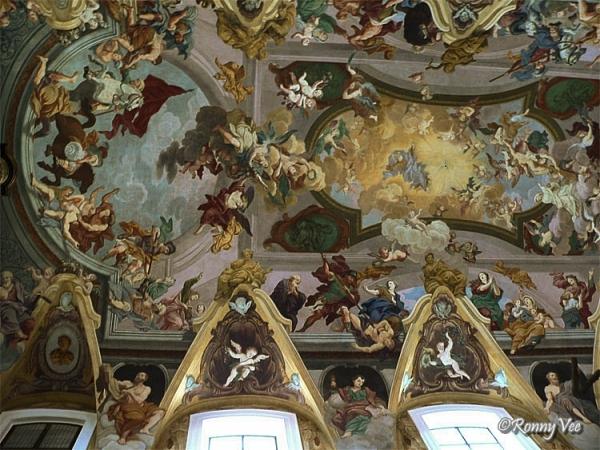 Fresco ( St.Nicolas-cathedral Ljublijana)