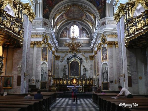 Saint Nicolas Cathedral Ljubljana.
