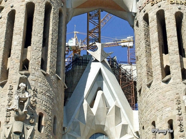 Sagrada Familia. Detail