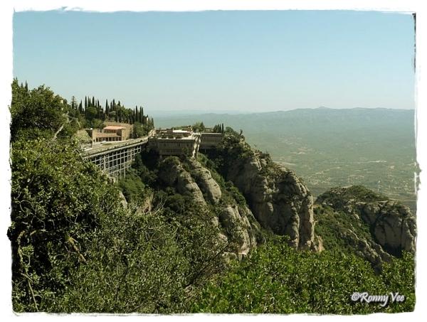 Spain, near Montserrat