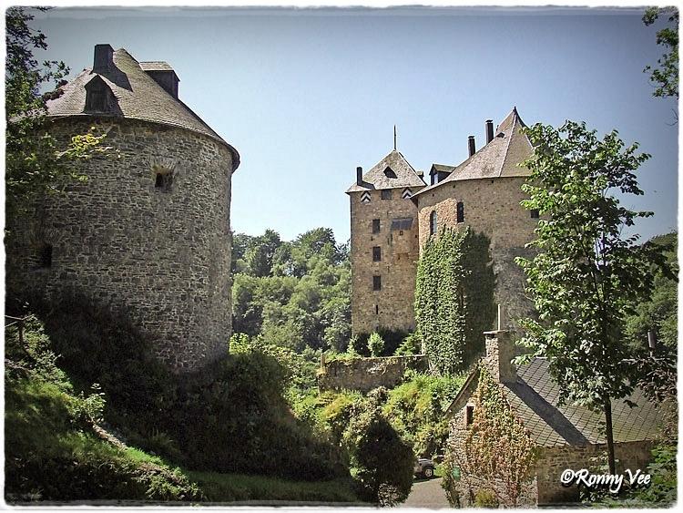le Chateau de Reinhardstein,Robertville