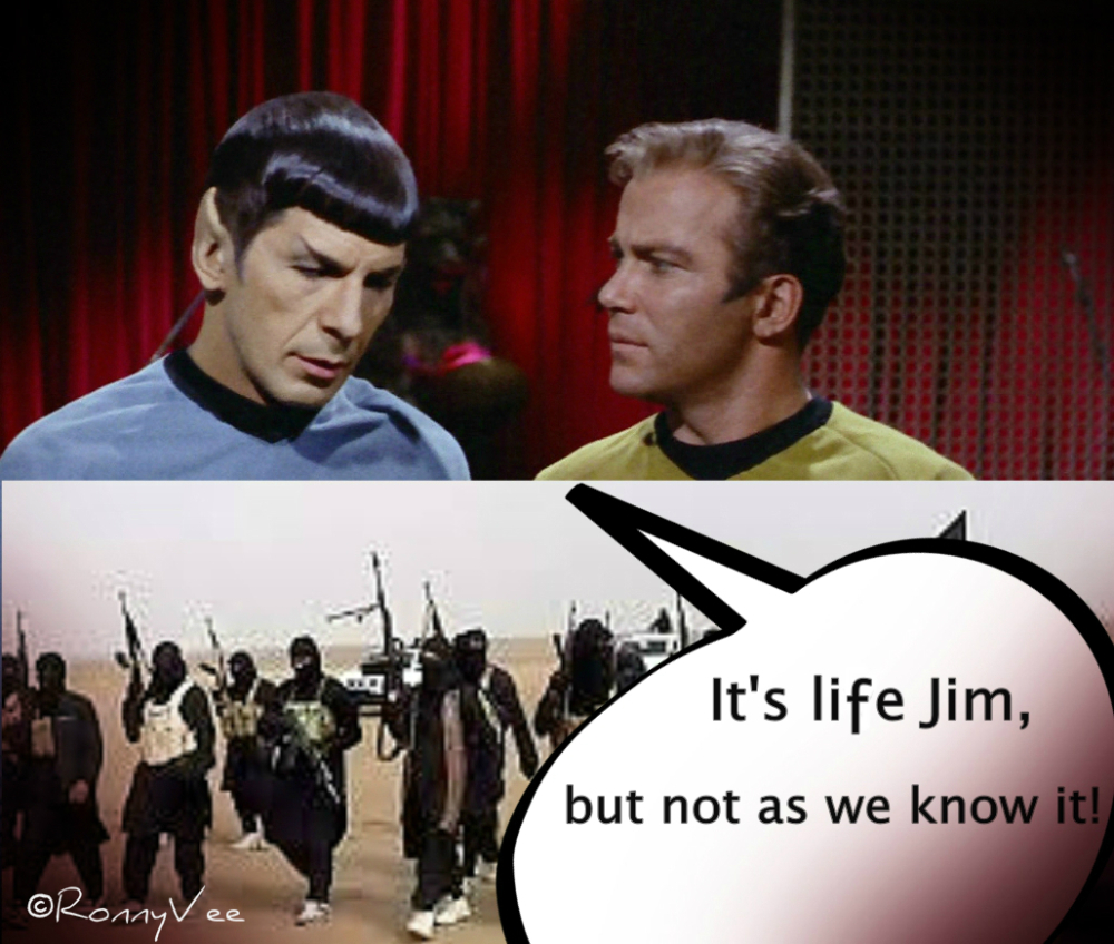 Goodbye, Spock
