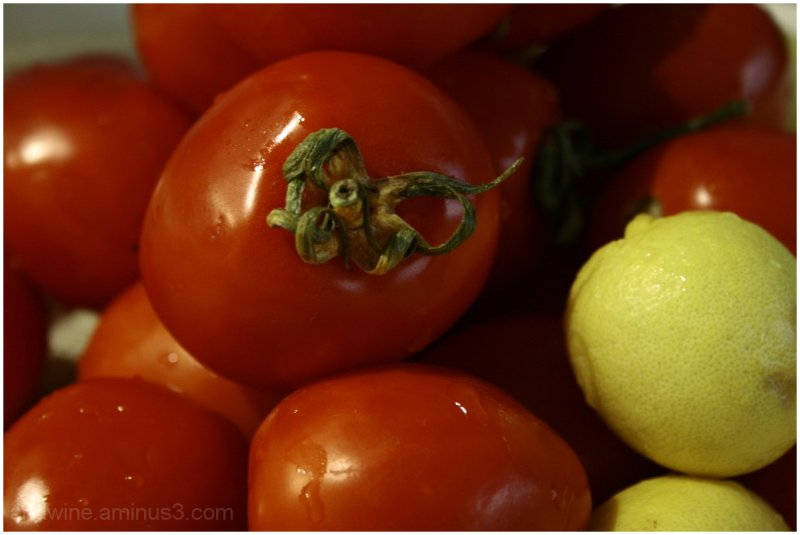 Tomato and lime