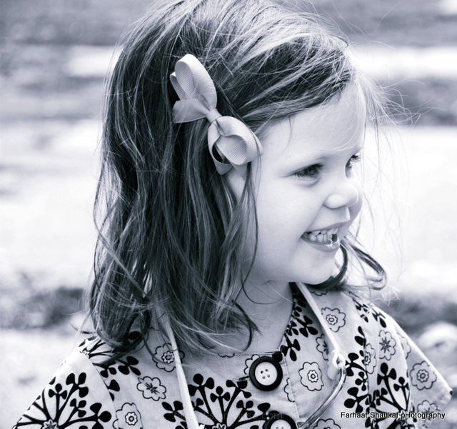 little girl. 2