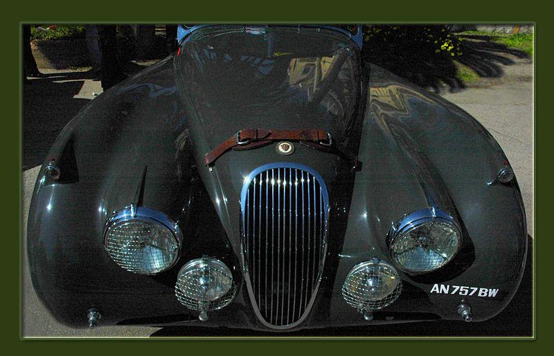 jaguar spider 1954