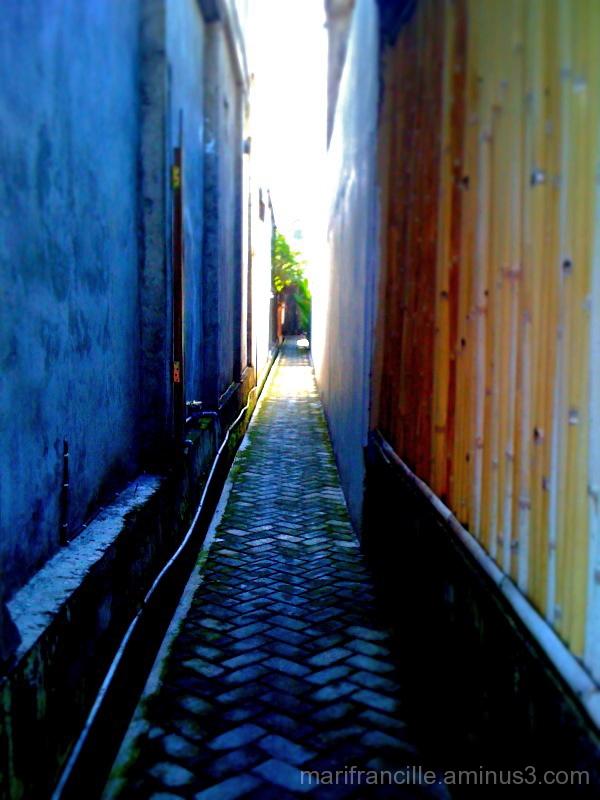 intrigue of narrow alleys
