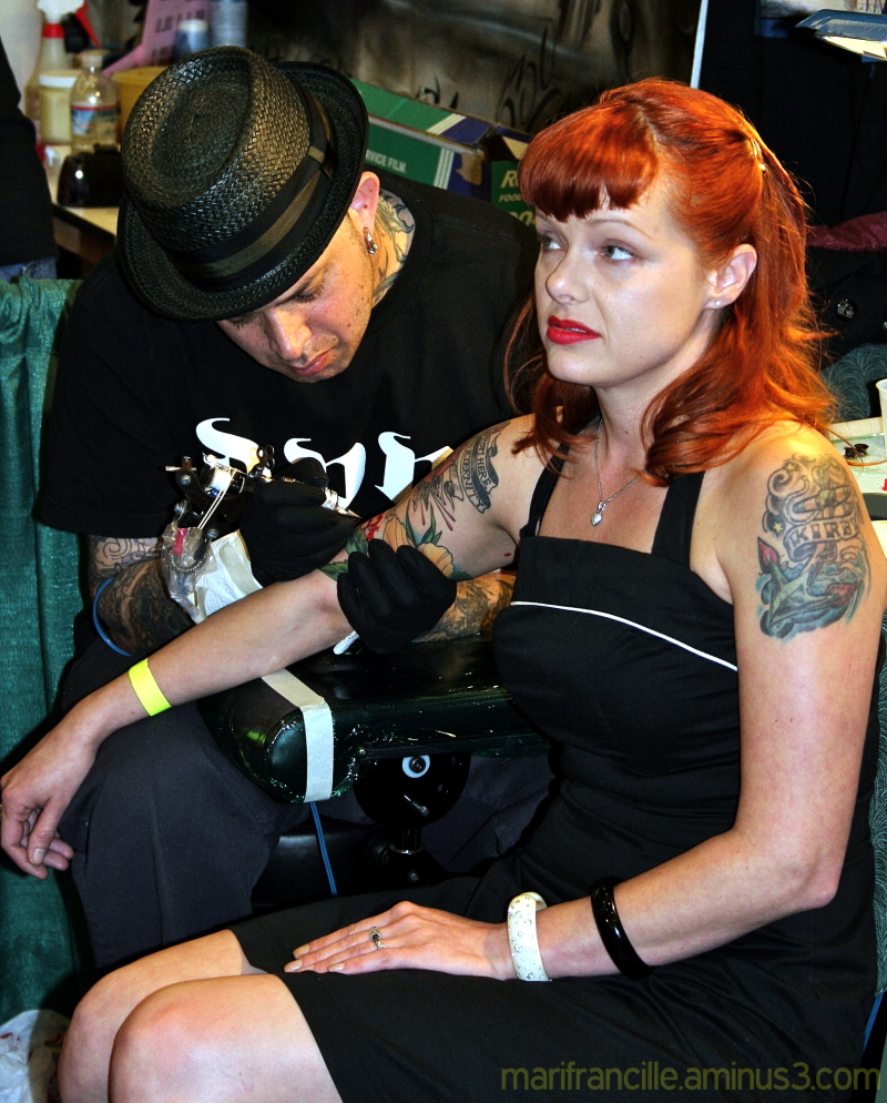 tattoo, ginger, redhead,ink