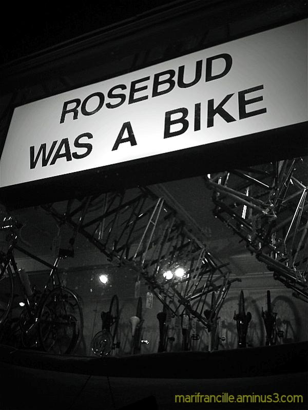 rosebud, bikes