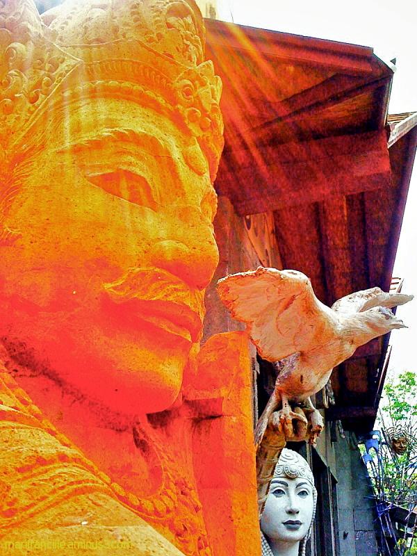 Ubud, Bali, sculpture
