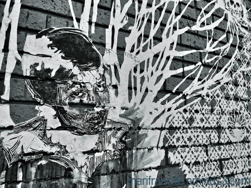 mural, decayed mural, 24th street, san francisco